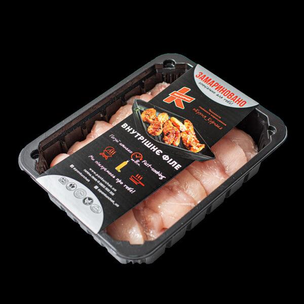 Купити внутрішнє філе — замариноване оптом, Пан Курчак лоток, chicken packaging. курятина лоток, курятина упаковка, пан курчак лоток, chicken packing, chicken packed, packed chicken, упаковка курятины, курятина охолоджена