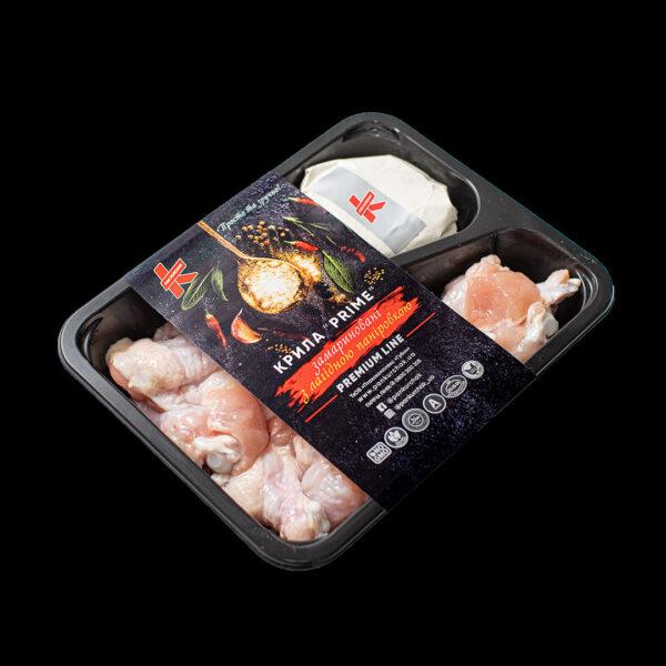 Купити крило Prime — з паніровкою оптом, Пан Курчак лоток, chicken packaging. курятина лоток, курятина упаковка, пан курчак лоток, chicken packing, chicken packed, packed chicken, упаковка курятины, курятина охолоджена